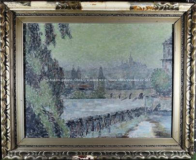 Gustav Macoun - Pražské panorama