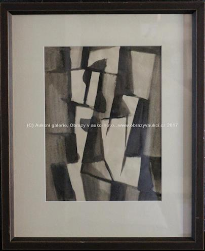 Abstraktní kompozice III